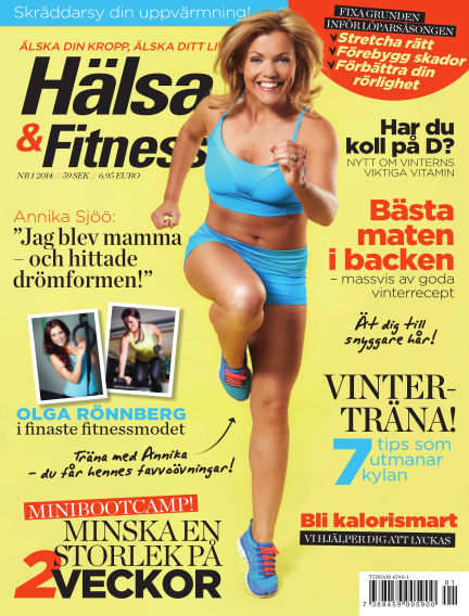 Hälsa & Fitness January 02, 2014 00:00