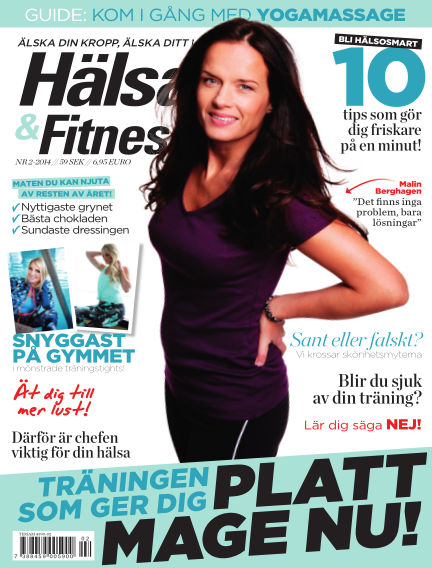 Hälsa & Fitness January 28, 2014 00:00