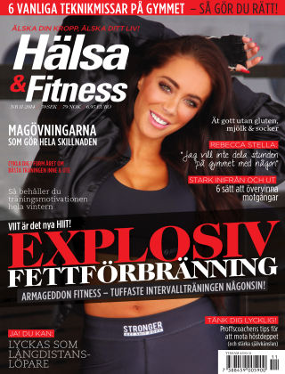 Hälsa & Fitness (Inga nya utgåvor) 2014-10-28