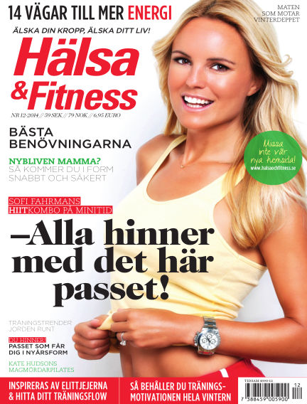 Hälsa & Fitness November 25, 2014 00:00