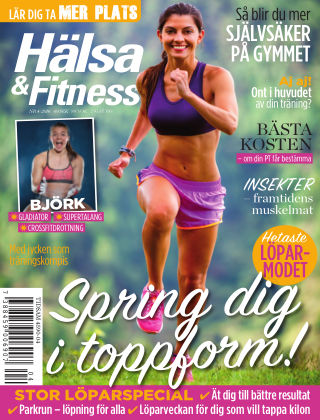 Hälsa & Fitness (Inga nya utgåvor) 2016-03-24