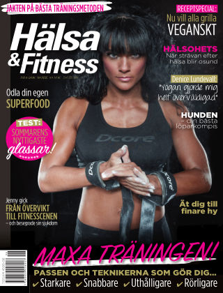 Hälsa & Fitness (Inga nya utgåvor) 2016-05-26
