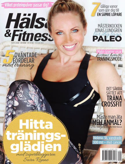Hälsa & Fitness August 25, 2016 00:00