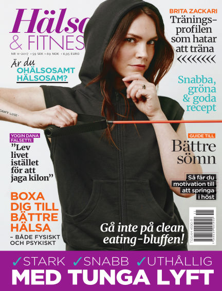 Hälsa & Fitness October 26, 2017 00:00