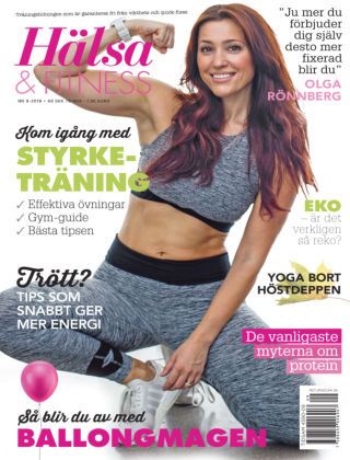 Hälsa & Fitness 2018-08-23