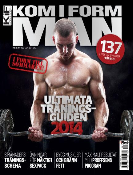 Kom i form man (Inga nya utgåvor) April 15, 2014 00:00