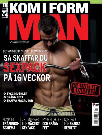 Kom i form man (Inga nya utgåvor) February 17, 2015 00:00