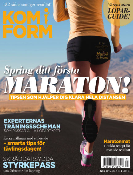 Kom i form kvinna (Inga nya utgåvor) April 14, 2015 00:00