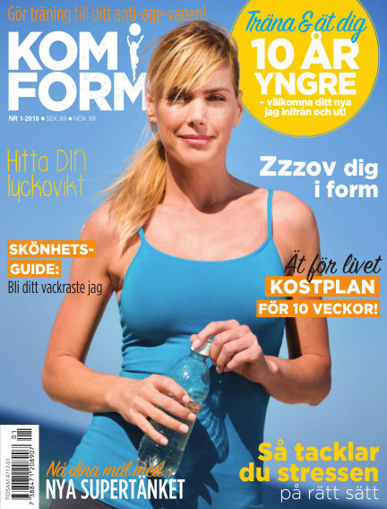Kom i form kvinna (Inga nya utgåvor) February 18, 2016 00:00