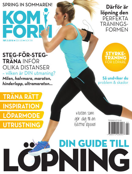 Kom i form kvinna (Inga nya utgåvor) April 14, 2016 00:00