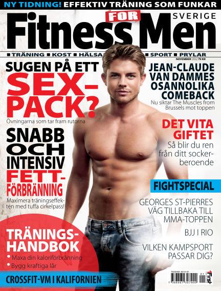 Fitness For Men (Inga nya utgåvor) October 30, 2012 00:00