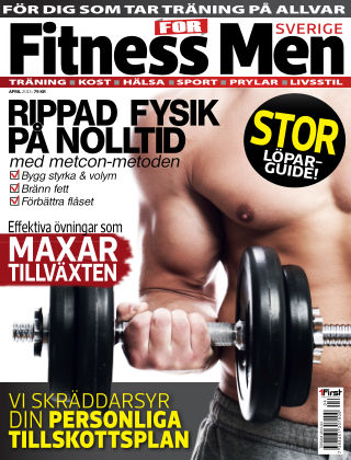 Fitness For Men (Inga nya utgåvor) 2013-04-23