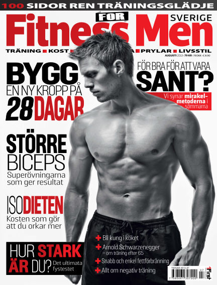 Fitness For Men (Inga nya utgåvor) August 06, 2013 00:00