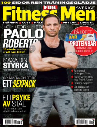 Fitness For Men (Inga nya utgåvor) 2013-09-10