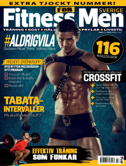 Fitness For Men (Inga nya utgåvor) March 11, 2014 00:00