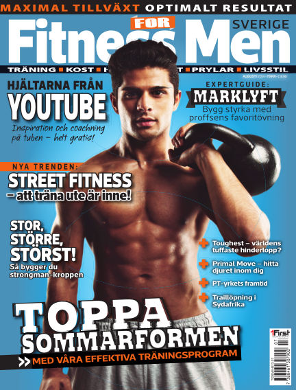 Fitness For Men (Inga nya utgåvor) July 31, 2014 00:00