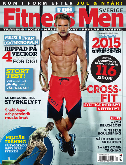 Fitness For Men (Inga nya utgåvor) December 23, 2014 00:00