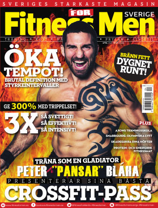 Fitness For Men (Inga nya utgåvor) 2015-04-09