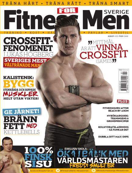 Fitness For Men (Inga nya utgåvor) August 04, 2015 00:00