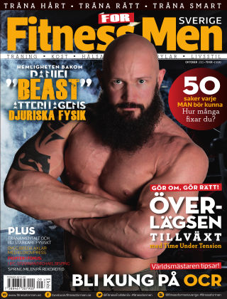 Fitness For Men (Inga nya utgåvor) 2015-10-13