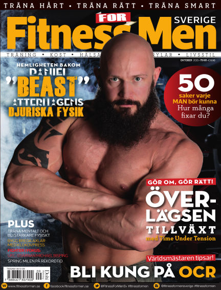 Fitness For Men (Inga nya utgåvor) October 13, 2015 00:00