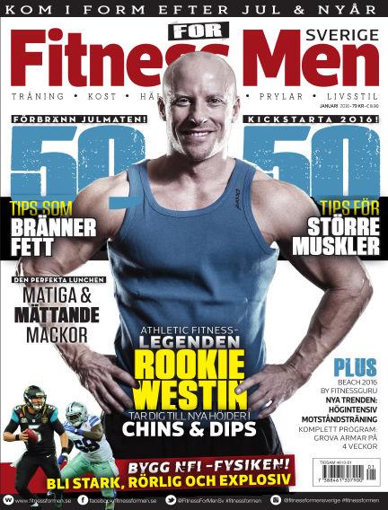 Fitness For Men (Inga nya utgåvor) December 22, 2015 00:00
