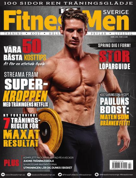 Fitness For Men (Inga nya utgåvor) March 03, 2016 00:00