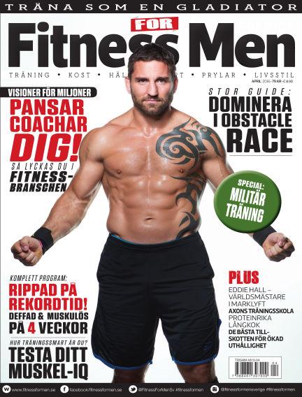 Fitness For Men (Inga nya utgåvor) April 07, 2016 00:00
