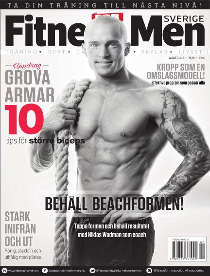 Fitness For Men (Inga nya utgåvor) August 04, 2016 00:00