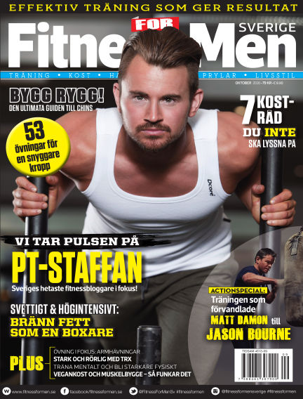 Fitness For Men (Inga nya utgåvor) October 13, 2016 00:00