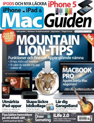 MacGuiden (Inga nya utgåvor) 2012-10-16