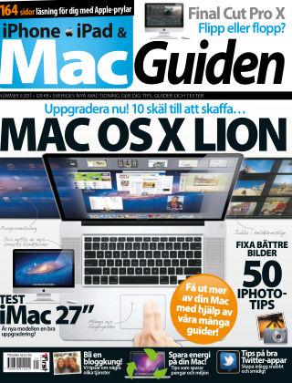 MacGuiden (Inga nya utgåvor) 2011-09-06
