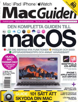 MacGuiden (Inga nya utgåvor) 2016-09-29