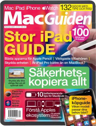 MacGuiden (Inga nya utgåvor) 2019-05-28