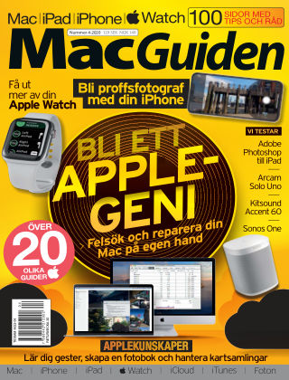 MacGuiden (Inga nya utgåvor) 2020-05-26
