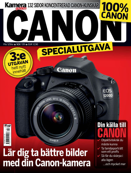 CanonGuiden (Inga nya utgåvor) May 23, 2014 00:00