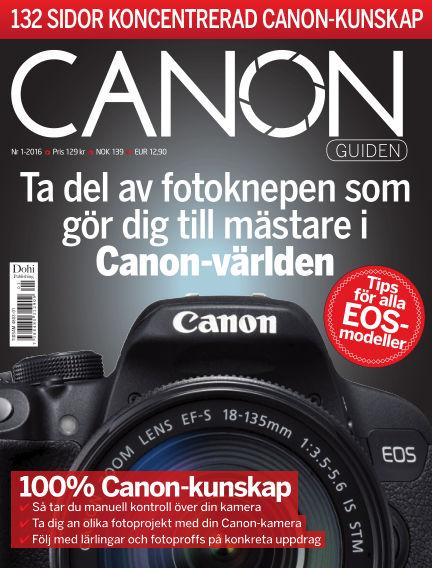 CanonGuiden (Inga nya utgåvor) February 21, 2016 00:00