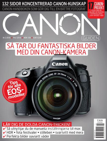 CanonGuiden (Inga nya utgåvor) May 20, 2016 00:00