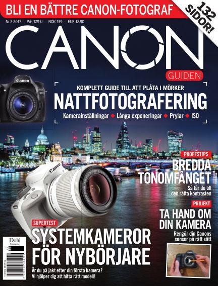 CanonGuiden (Inga nya utgåvor) May 19, 2017 00:00