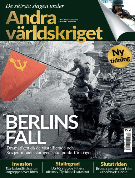 De största slagen under andra världskriget (Inga nya utgåvor) December 08, 2014 00:00