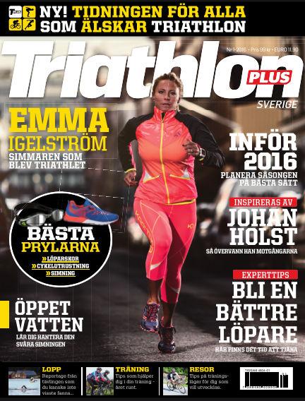 Triathlon Plus (Inga nya utgåvor) March 04, 2016 00:00