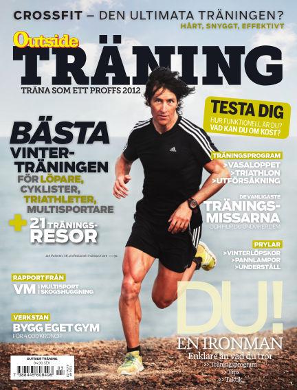OutsideTräning (Inga nya utgåvor) October 04, 2012 00:00