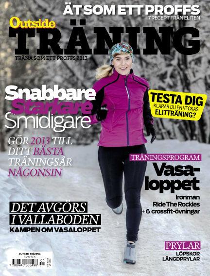 OutsideTräning (Inga nya utgåvor) January 07, 2013 00:00
