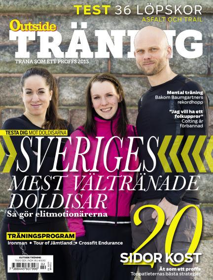 OutsideTräning (Inga nya utgåvor) March 12, 2013 00:00