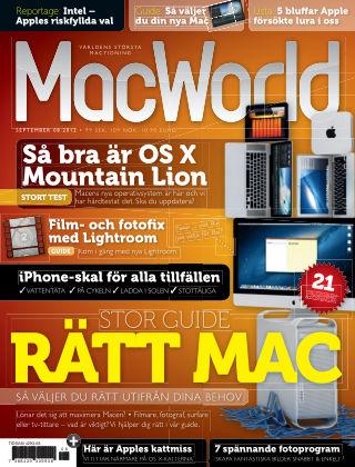 MacWorld (Inga nya utgåvor) 2012-08-30