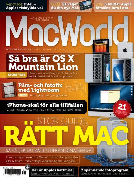 MacWorld (Inga nya utgåvor) August 30, 2012 00:00