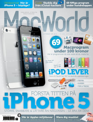 MacWorld (Inga nya utgåvor) 2012-09-27