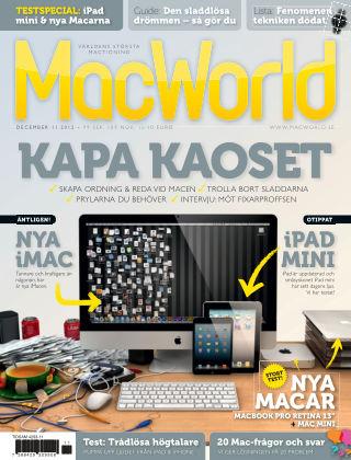 MacWorld (Inga nya utgåvor) 2012-11-29