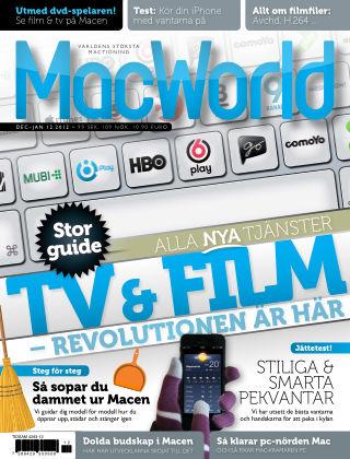 MacWorld (Inga nya utgåvor) 2012-12-28