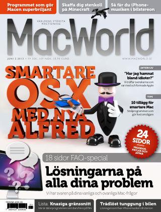 MacWorld (Inga nya utgåvor) 2013-05-21